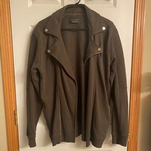Mens Zara jacket- olive green-Great condition